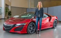 interview with acura NSX exterior designer, michelle christensen