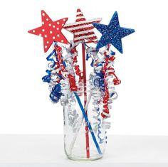 New Adventures 4th of July Star Wands, large