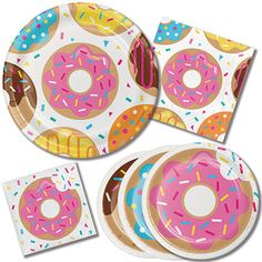 Donut Party Pack Donut Party Donut Birthday Party Donut