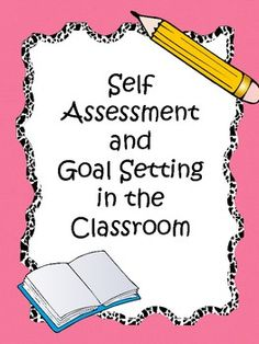 A huge 45 page pdf to help your students self assess, reflect and goal set! Perfect for Grades 2-6!
