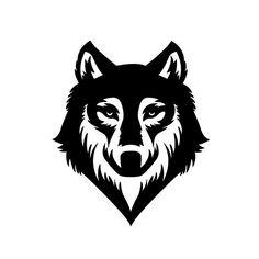 Wolf Die Cut Vinyl Decal PV998