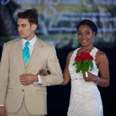 Men's Wesrhouse and @Mary Me Bridal  in Premier Bridal Shows' fashion show. Flowers by @Zakia Rad  - #Love ly!