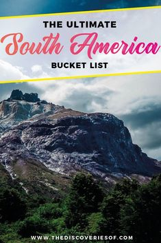South America Travel Bucket List. 90 Awesome Things to do in South America When Backpacking and Travelling #southamerica #bucketlist #traveldestinations 2