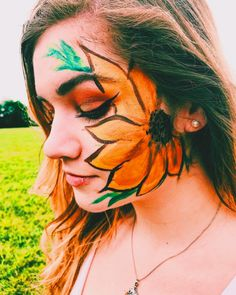 One of the coolest things for me is to have cool designs in your photos whether it be a pattern on a wall or face paint!