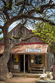 Luckenbach Texas post office; photo by Inge Johnsson