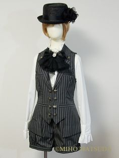 swallow-tailed Vest/215048(215068)/MIHO MATSUDA