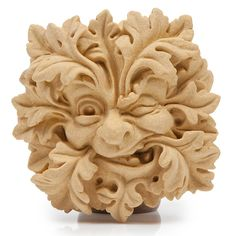 'Jack In The Green' Green Man Wall Plaque reproduction| Winchester Cathedral Shop
