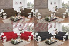 protetor de sofá 2 e 3 lugares microfibra matelado com laços