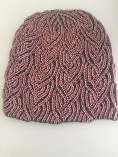 7cd86a86594 Offshoot Hat pattern by Leela Frankcombe