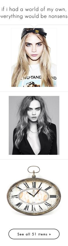 """""""if i had a world of my own, everything would be nonsense"""" by flxwercrown ❤ liked on Polyvore featuring people, models, backgrounds, cara, pictures, magazine, cara delevingne, faces, hair and home"""