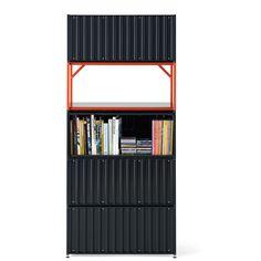 Shelf element CONTAINER DS TARA - Design Kuno Nüssli