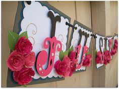 Items similar to Handmade Banner - Custom made - GO GREEN - Name Banner Happy Birthday Baby Shower Bridal Shower on Etsy Happy Birthday Baby, Happy Birthday Parties, Happy Birthday Banners, Cricut Banner, Diy Banner, Banner Ideas, Green Name, Go Green, Name Banners