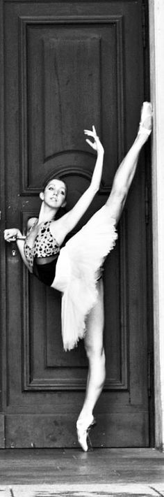 I choose to believe I will be a prima ballerina once I get to heaven. I imagine it will be like those perfect pirouette dreams I used to have. If you're a dancer I know you know what I'm talking about ; )