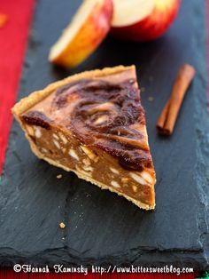 Apple Ice Cream Pie: start a new Thanksgiving tradition (vegan, no bake).