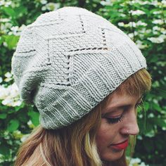 This is a printed pattern that requires shipping. Simple knits and purls create stunning texture in the Chevy hat. Knit this slouchy beanie in a plump worsted weight for an extra-quick knit. SIZING: 1