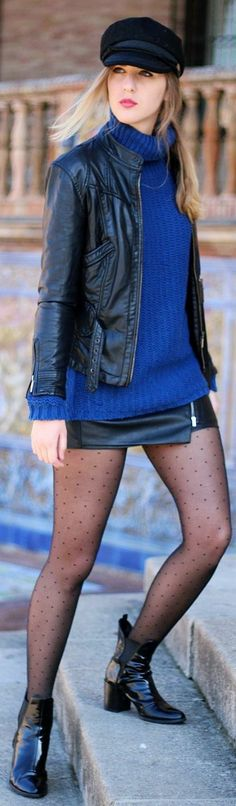 Blue And Black by Dear Diary http://www.deardiary-fashion.com/