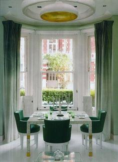 замглреда ELLE Decoration Russia считает, что градиентная заливка -одна из самых красивых тенденций интерьерной моды
