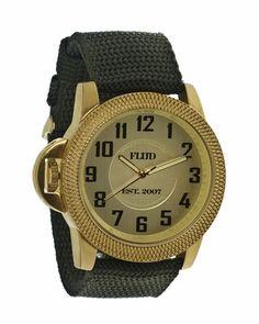 Flud Tank Watch - gold - Punk.com - Svpply