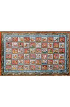 Vastraharan Lila of Shri Krishna, Hindu Watercolor on Paper Krishna, Watercolor, Paper, Painting, Pen And Wash, Watercolor Painting, Painting Art, Watercolour, Paintings