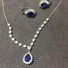 Safir Ve Pırlanta  Pırlanta Denince Akla Gelen  www.robertopirlanta.com  #pirlanta #diamonds #kolye #safir #robertobene