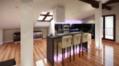 Boathouse kitchen visualisation