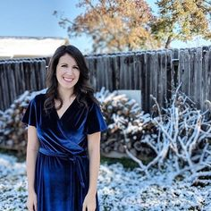 We've saved Rachel Anne's simply stunning velvet Eve Dress until today because it's SUUUUUPER gorgeous and just what we'd love to find under the tree!