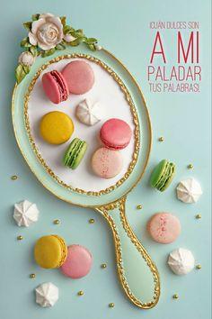 Cute Desserts, Delicious Desserts, Macaroon Wallpaper, Laduree Paris, Macaron Flavors, All I Ever Wanted, Cute Food, Food Design, Food Plating