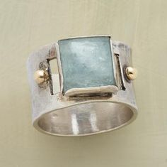 """Aquamarine derives its name from """"sea water"""". It has long been considered a good…"""