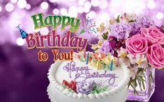 Amazing Photo of Birthday Wishes Cake . Birthday Wishes Cake Birthday Hdwpro Happy Birthday Flower Cake, Happy Birthday Wishes Cake, Happy Birthday Parties, Birthday Cakes, Birthday Bash, Meaningful Birthday Wishes, Best Birthday Wishes Quotes, Happy Birthday Cards Images, Happy Birthday Greeting Card