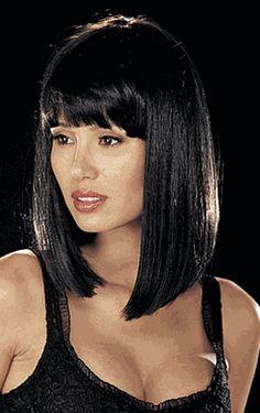 Medium Straight Hair Wigs -  Cleopatra Cut 846