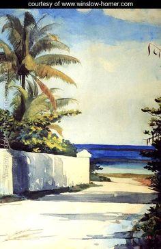 Road in Nassau | Winslow Homer