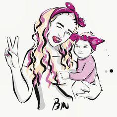 """𝐁𝐘𝐍 on Instagram: """"💖Ilustrovaný portrét ako darček, pre tvoju prezentáciu alebo len tak pre seba? 💁🏻♀️ BYN si poradí so všetkým 😉 ✌🏻"""" Illustrations, Anime, Instagram, Art, Art Background, Illustration, Anime Shows, Kunst, Gcse Art"""