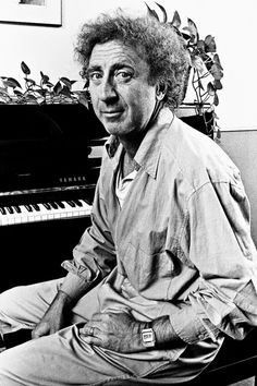 Gene Wilder photographed by George Rose, 1987.