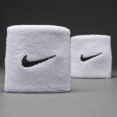 0936b07ac63 Nike Swoosh Wristbands - White/Black