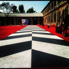 Runway @OGR #runway #black #igerstorino #red #photoftheday - @geor_gette- #webstagram