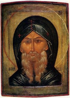 File:Saint Anthony the Great icon (16th century).jpg He is also known as Anthony of Egypt.