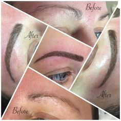 I finally did it!!!  After many years of contemplation I decided to get my brows tattooed or semi permanent brows as my practitioner calls them.  Those of you who have read my blog know that I had the most amazing full brows in the 1980`s