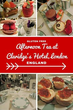 London Travel Inspiration - Thinking of heading to London on your next vacation and wanting to eat a yummy afternoon tea. Why not read my review of the gluten free afternoon tea at Claridge's Hotel in Mayfair, London...warning the images will make you drool! There are plenty of gluten free food travel tips and afternoon tea reviews at my website www.aroundtheworldin80pairsofshoes.com