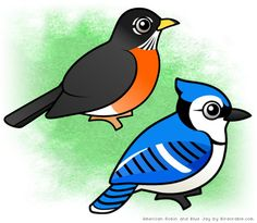 ideas robin bird cartoon art for 2019 Bird Paintings On Canvas, Bird Artwork, Animal Paintings, Watercolor Hummingbird, Watercolor Bird, Cartoon Images, Cartoon Art, Black Bird Tattoo, Bird Tattoos