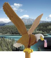 Flying Eagle Woodworking Plan