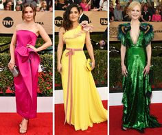 Some color on the #SAGAwards red carpet yesterday!