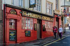 Fighting Cocks pub - Durham, England, UK Durham England, England Uk, British Pub, British Isles, Newcastle Nightlife, Glasgow, Edinburgh, Uk Pub, Durham City