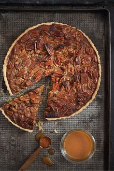 Salted Caramel Pecan Nut Pie
