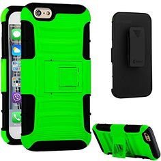 iPhone 6 Case,VAKOO® [Combo Series] [Belt Clip] Ultimate Heavy Duty Protection Shockproof Drop proof Holster iPhone 6 (4.7 inch) Kickstand Cases - Lime Green Vakoo http://www.amazon.com/dp/B00YBZXNHC/ref=cm_sw_r_pi_dp_Nt4Bwb1HTK8XK