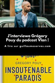 """Découvre mon interview avec Grégory Pouy du podacast Vlan. Au menu : son rapport au podcast, aux réseaux sociaux et au voyage. Pour cet épisode 29, je te présente Grégory Pouy du podcast Vlan et auteur de """"Insoutenable Paradis"""". Greg essaie de nous transmettre ce qu'il comprend de son évolution et d'en tirer des éléments pour envisager l'avenir."""