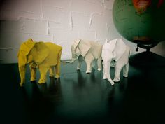 3 little guys... by MABONA ORIGAMI
