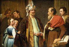 Elisha Refusing Gifts From Naaman