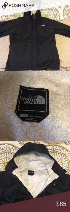 Women's north face rain coat Black north face rain coat North Face Other