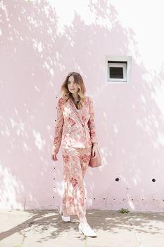 Pink Pyjama Suit | What Olivia Did...