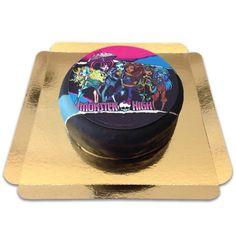 Eine Monster High Torte für Fans der Figuren. Peppen Sie den Kindergeburtstag damit auf. Die Themen-Torte für Kinder.